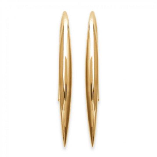 Earrings Tige Crochet Gold plated 18k - Women