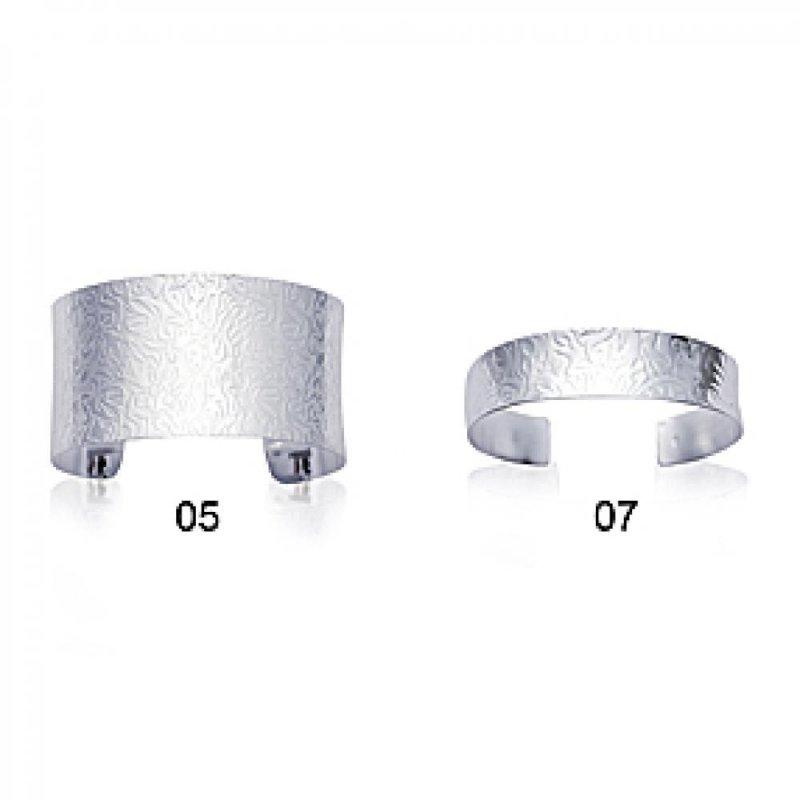 Armband 925 Sterling Silber rhodiniert - Damen - 5mm