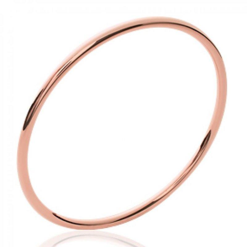 Armband 3mm de large Vergoldet 18k Rose - Damen - 66mm