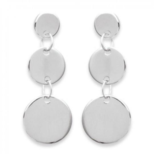 Earrings Gipsy Bohême  Argent - Women