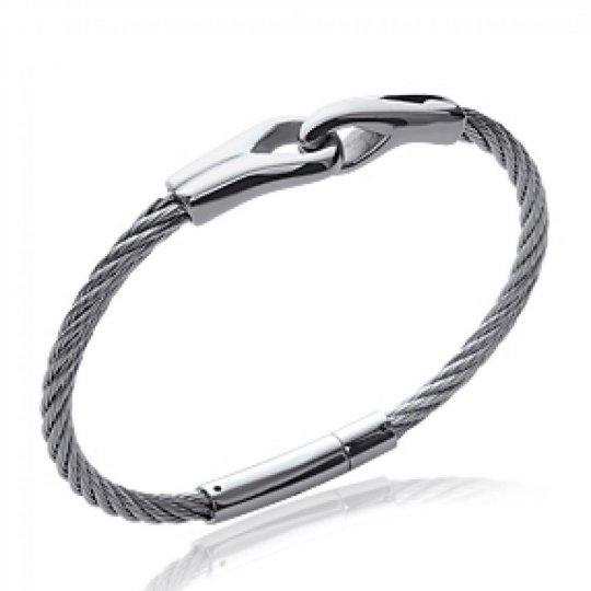 Pulsera cable de acero 316L - Mujer - 66mm