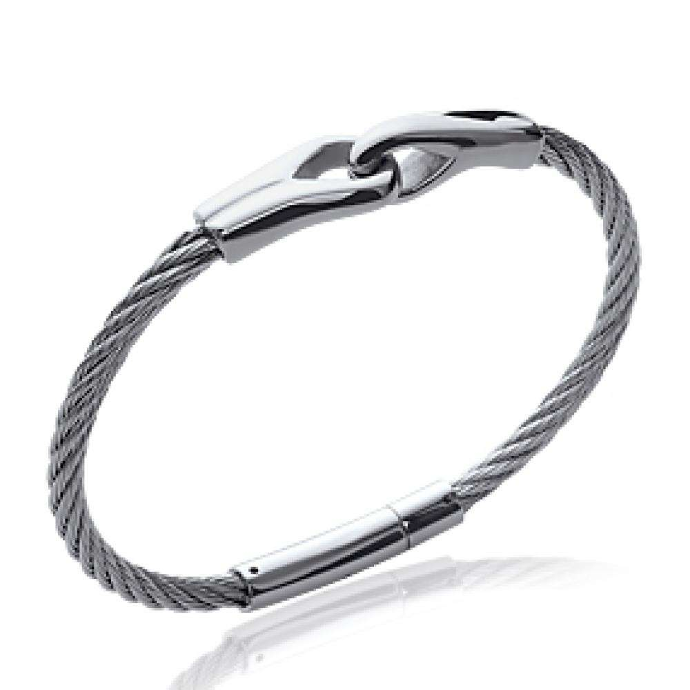 Bracelet Steel cable 316L - Women - 66mm