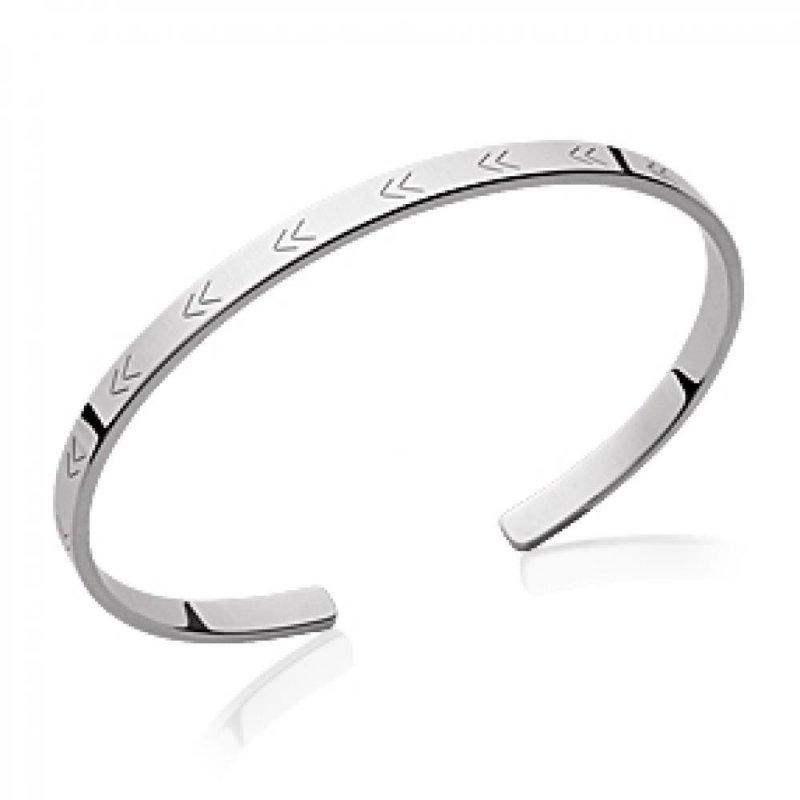 Armband Maya Aztèque 925 Sterling Silber rhodiniert - Damen - 58mm