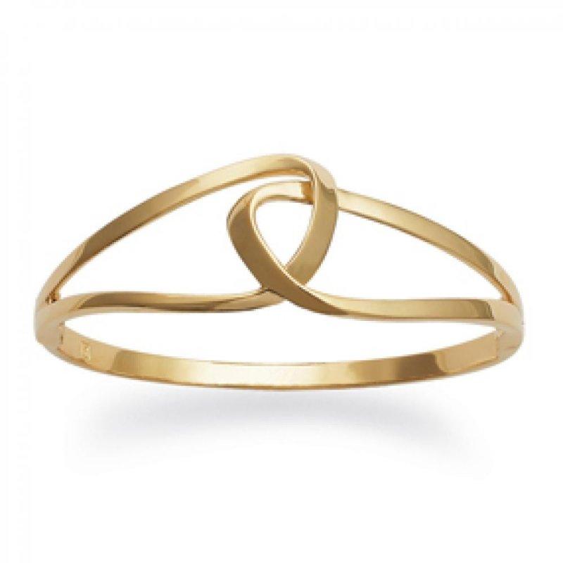 Armband boucles Unendlichkeit enlacées Vergoldet 18k - Damen - 62mm