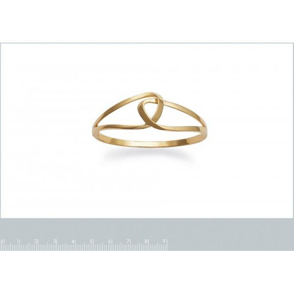 Bracciale Bangle boucles Infinito enlacées Placcato in oro 18k - Donna - 62mm