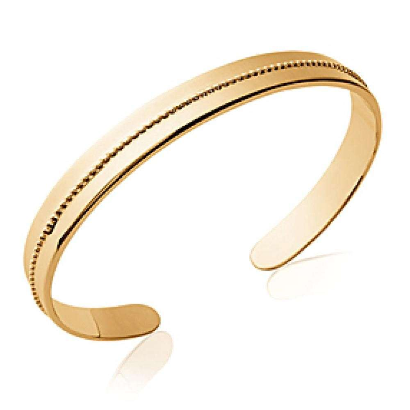 Bangle perline Gold plated 18k - Women - 56mm
