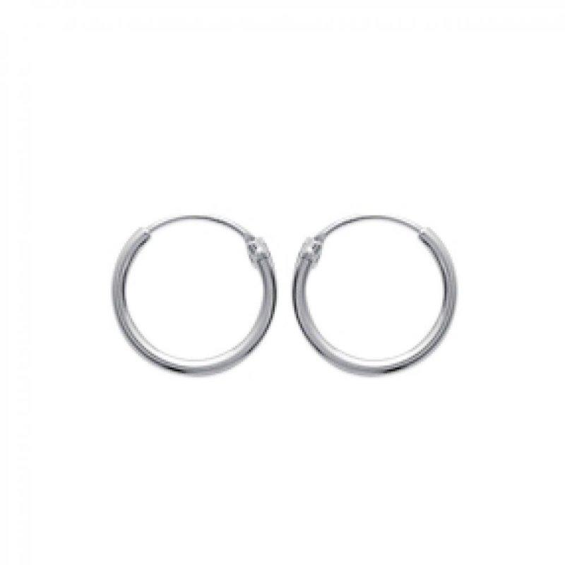 negozio online 0555d f1d6e Petites Cerchio Orecchini Argent 14mm pour Uomo ou Donna