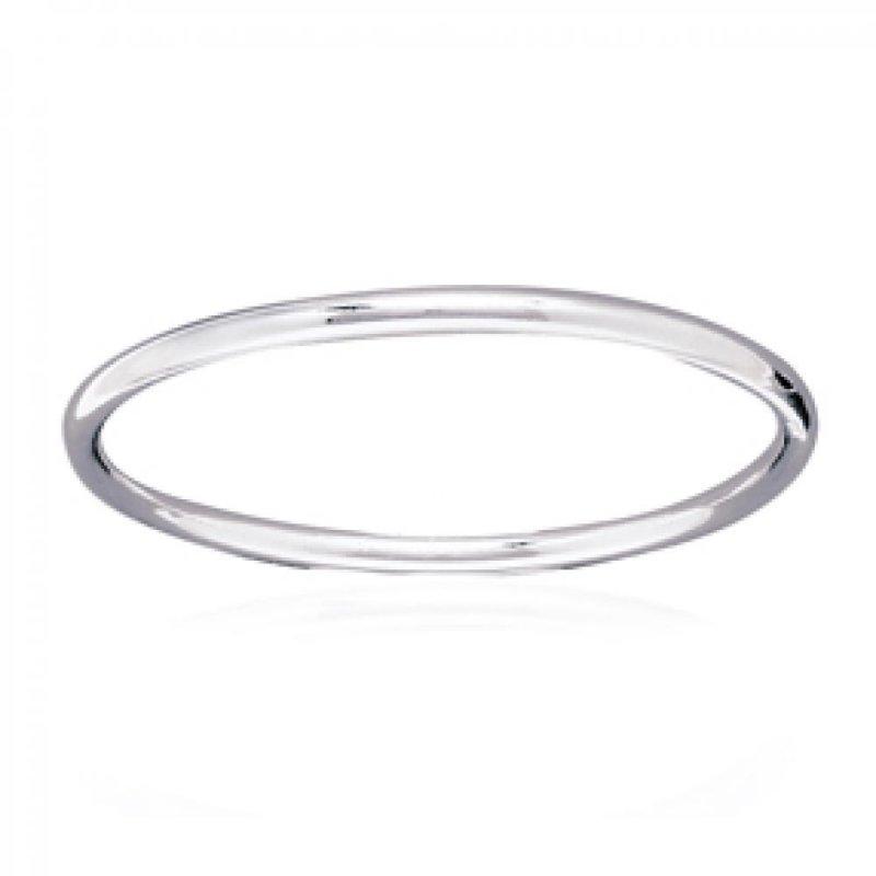 Armband moderne Argent Rhodié - Damen - 66mm