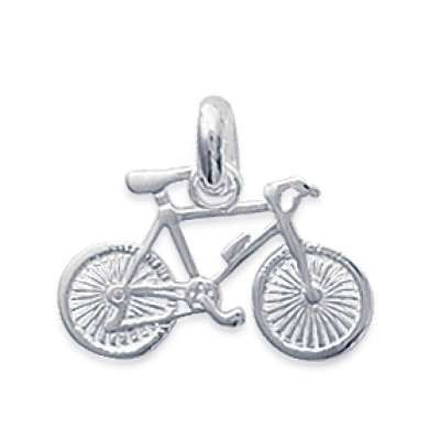 Pendants Cycliste Bicyclette Argent pour for Men Women