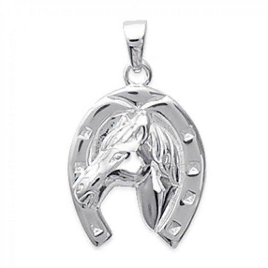 Colgante Fer à cheval Argent - Mujer