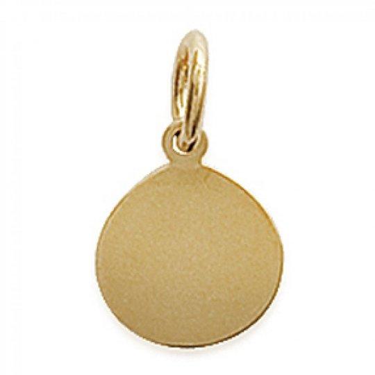 Pendants Médaillon Engravable Gold plated 18k pour for...