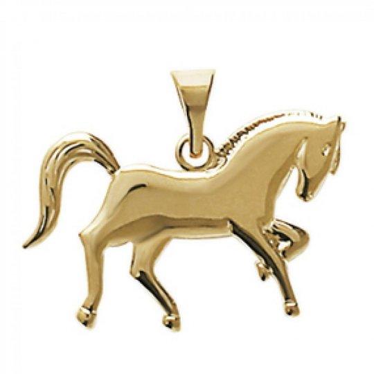 Pendants Cheval Gold plated 18k - Women