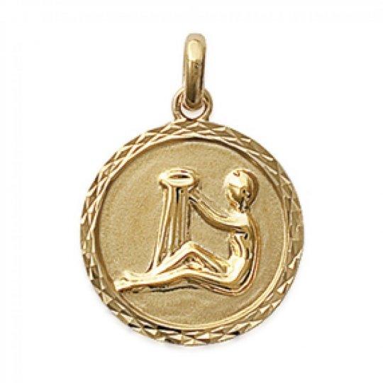 Pendants AQUARIUS Gold plated 18k pour for Men Women