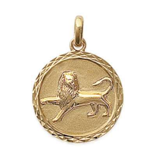Pendants LEO Gold plated 18k pour for Men Women