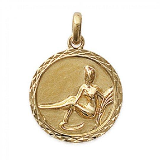 Pendants VIRGO Gold plated 18k pour for Men Women