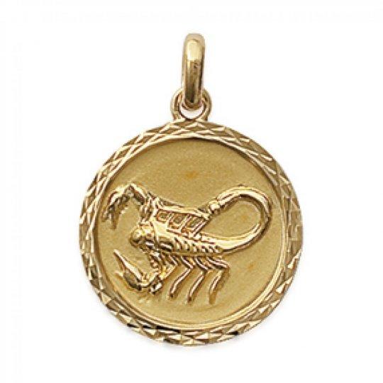 Pendants SCORPIO Gold plated 18k pour for Men Women
