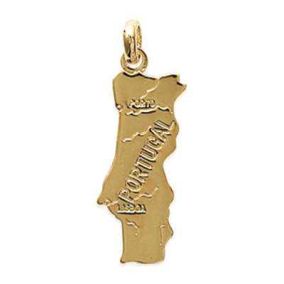 Pendants PORTUGAL Gold plated 18k pour for Men Women
