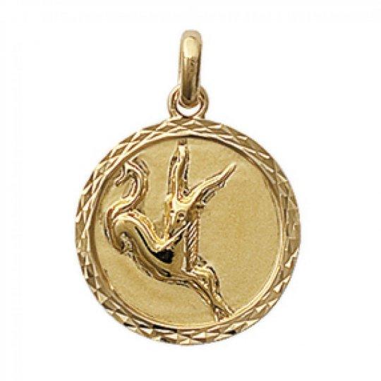 Pendants CAPRICORN Gold plated 18k pour for Men Women