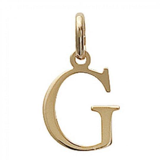 Pendants Lettre G Majuscule Gold plated 18k pour for Men...