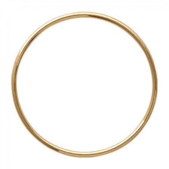 Ciondolo Grand Anneau Placcato in oro 18k - Donna