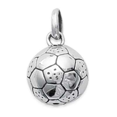 Pendants Ballon de football Argent pour for Men Women