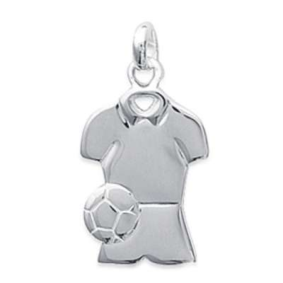 Pendants FOOTBALL Argent pour for Men Women