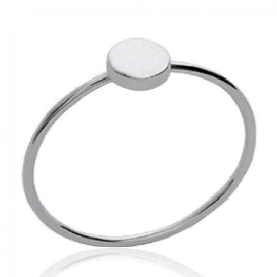 Ring de phalange auriculaire Petit rond Argent - toutes...