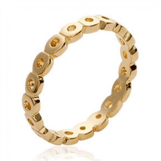 Wedding ring Engagement originale Gold plated 18k - Ring...