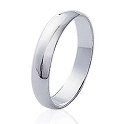 Wedding ring Engagement simple pour couple Argent for Men...