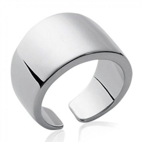 Ring Bangle ouvert 10mm Argent Rhodié - Women