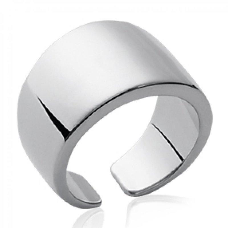 Ring Bangle Argent Rhodié - Women