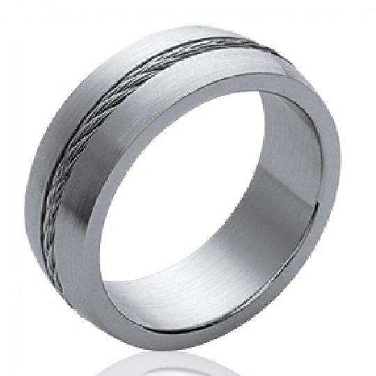 Ringe Armband Stahlkabel 316L pour Männer