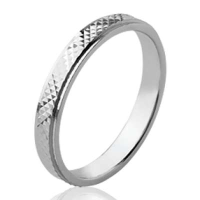 Ring de mariage originale Wedding ring Engagement Argent...