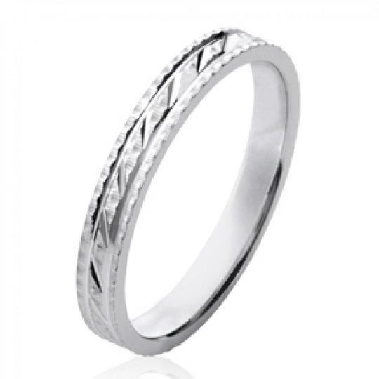 Ringe de mariage Memoirering originale Argent Rhodié - Damen