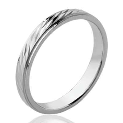 Ring de mariage fine Wedding ring Engagement Argent...