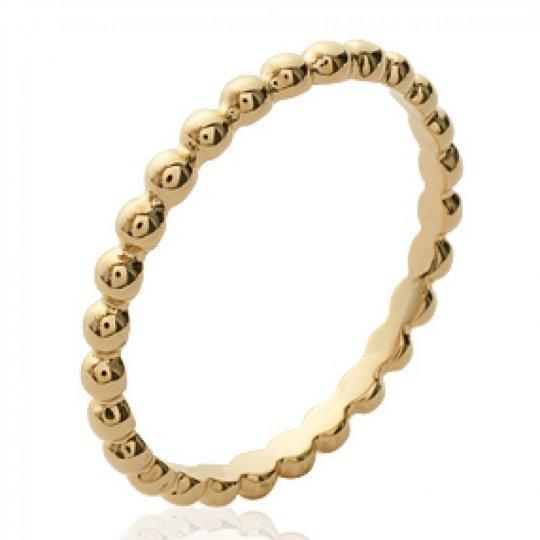 Wedding ring Engagement originale fine Gold plated 18k - Ring de phalange