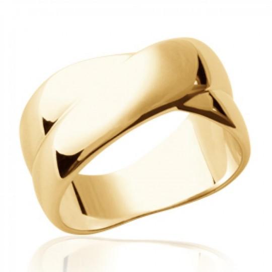 Anello entrelacée Placcato in oro 18k - Donna