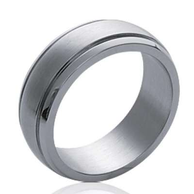 Wedding ring Engagement Acier 316L pour for Men Women