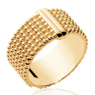 Ring Bangle moderne Gold plated 18k - Women