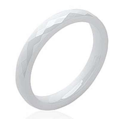 Ring Ceramic White - Women