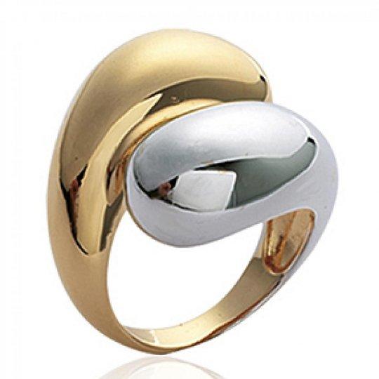 Grosse Ringe Bicolor Vergoldet 18k - Damen