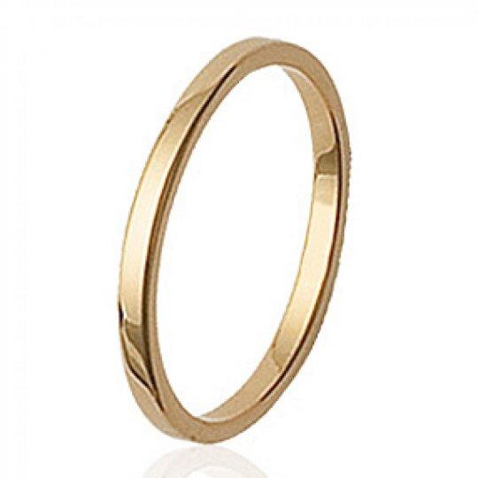 Memoirering fine Zum Gravieren Vergoldet 18k - Ringe de...
