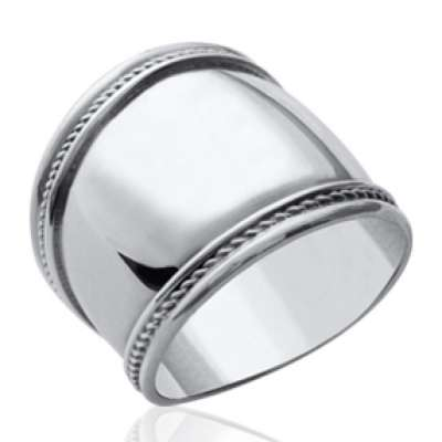 Ring large of Bali Argent - Women - Grandes Sizes 62 64...