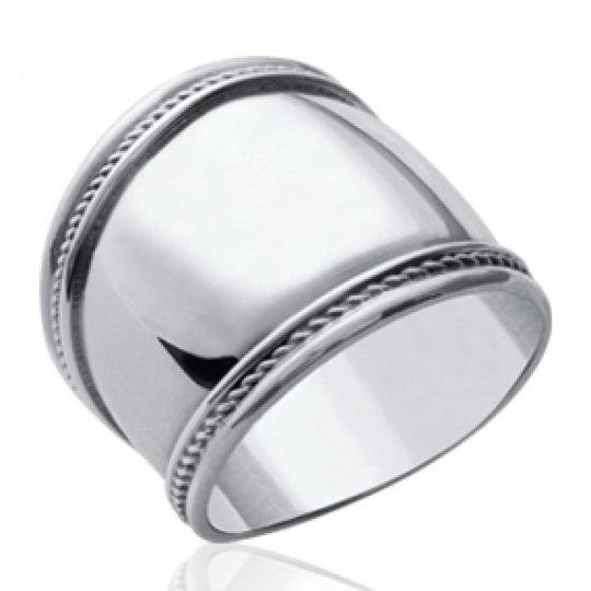 Ringe von Bali Argent - Grosse Ringe Damen - Ringe de pouce