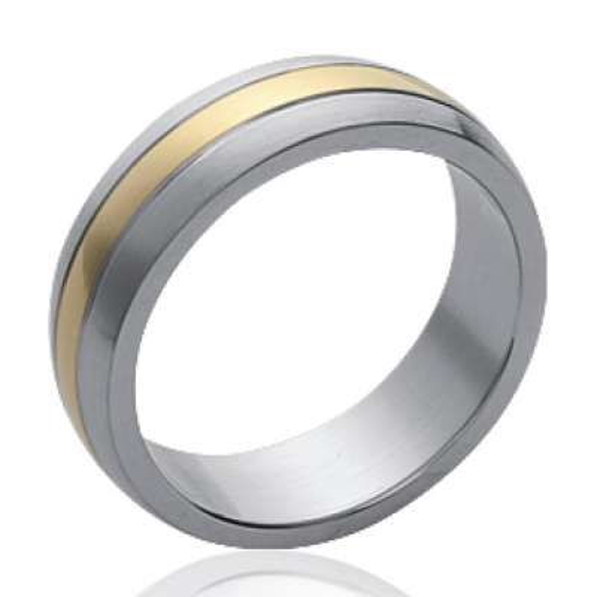 Wedding ring Engagement  couple Acier 316L for Men Women