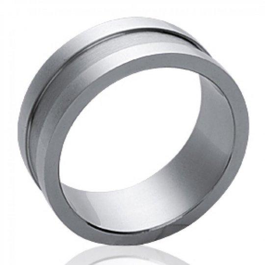 Wedding ring Engagement moderne Acier 316L pour for Men