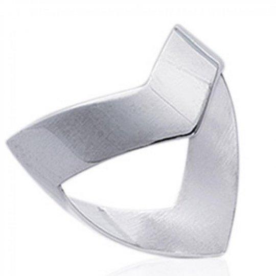 Ring en V Argent idéale pouce et grande Size - Women