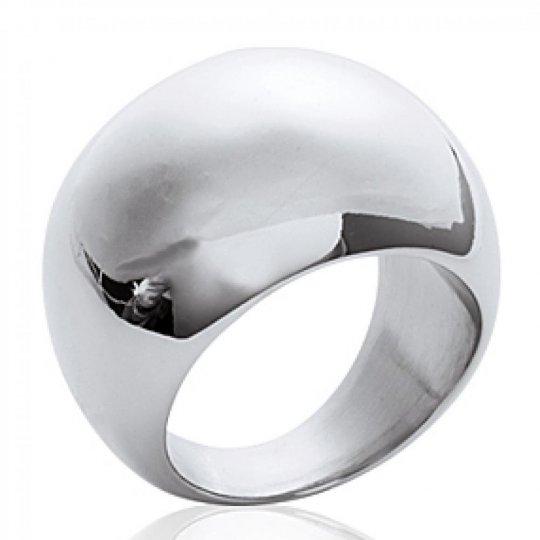 Grosse Ring dôme Acier 316L - Women