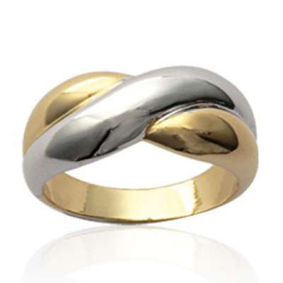 Ring croisée  Gold plated 18k -  - Women