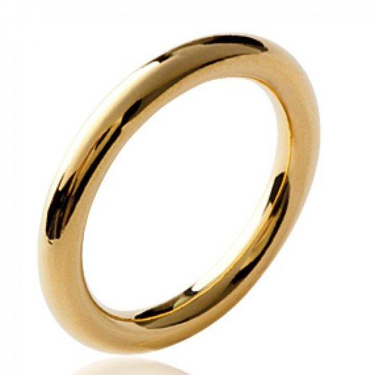 Ringe anneau épais Vergoldet 18k - Damen